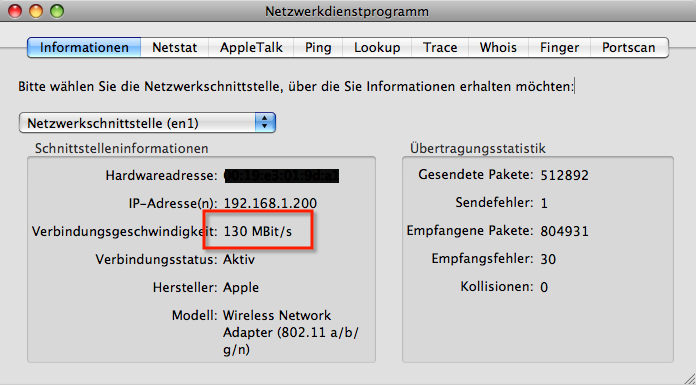 Apple Airport Extreme 130 MBit