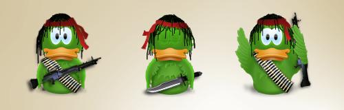 Rambo Duck