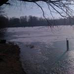 Krupunder See zugefroren