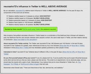 twitter-influence