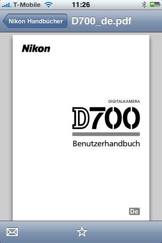 nikon d700 handbuch