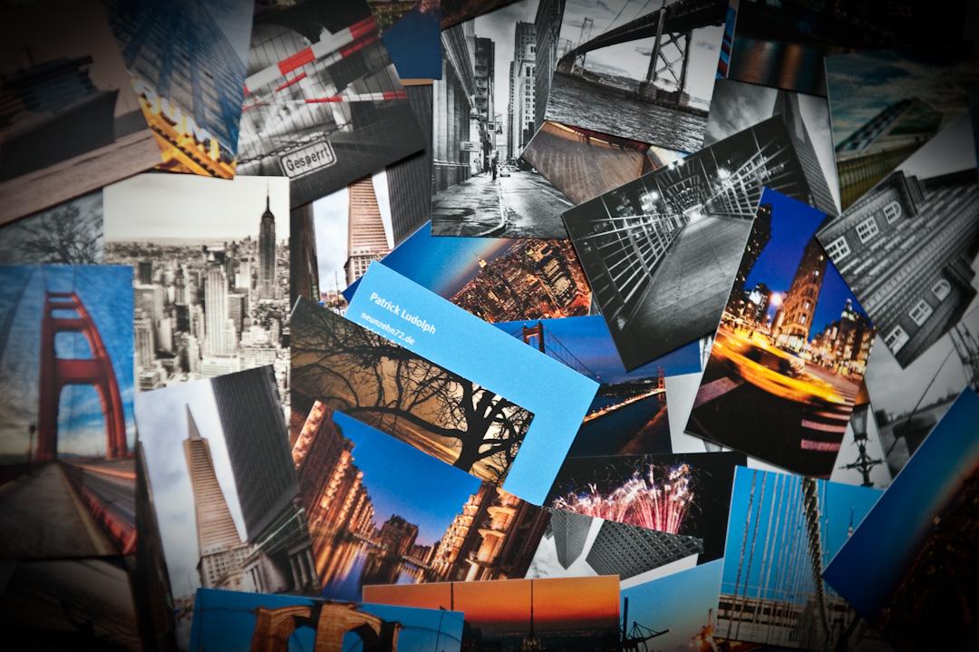Visitenkarten Von Moo Jede Mit Einem Anderen Foto Neunzehn72