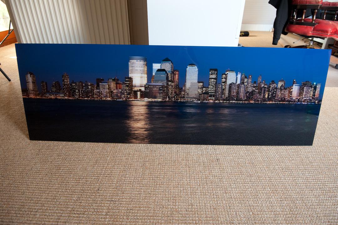 Panorama Als Acryl-Fineart Mit Aludibond Im Test