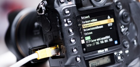 Nikon D4 Netzwerk