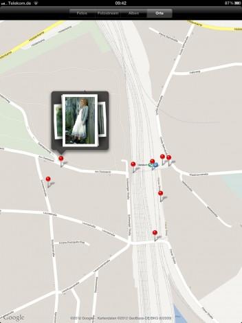 iPad Geodaten