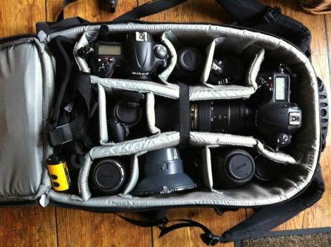 Meine Fototasche