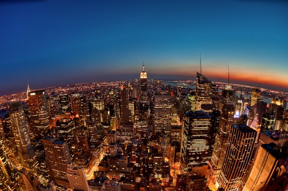 New York from Top of the Rock