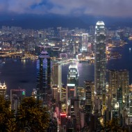 HK_Peak@Night