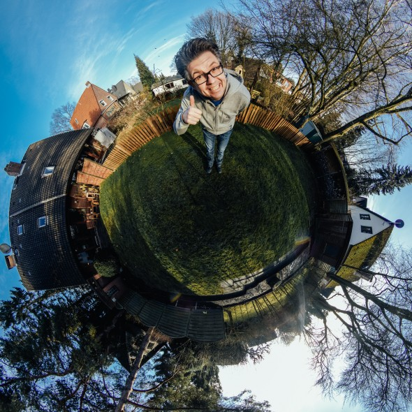 Little Planet Portrait