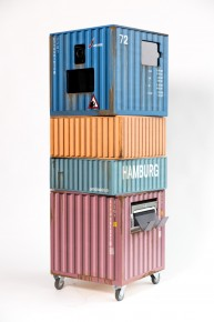 Photo Booth Schiffscontainer