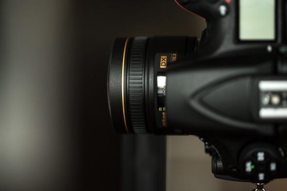 rasiertes Fisheye 10,5 mm an Nikon D810