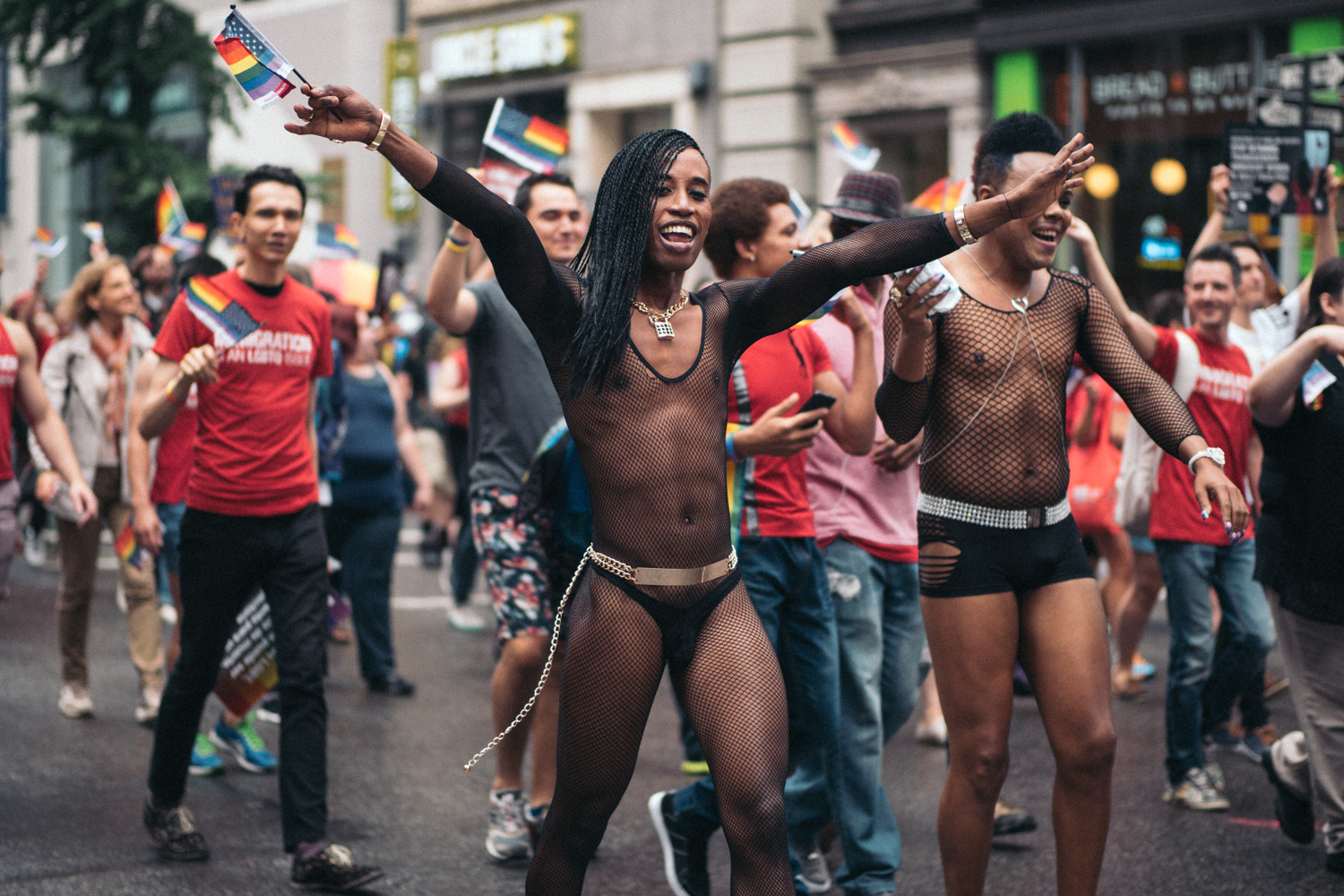 Feeling caught between the black and gay communities