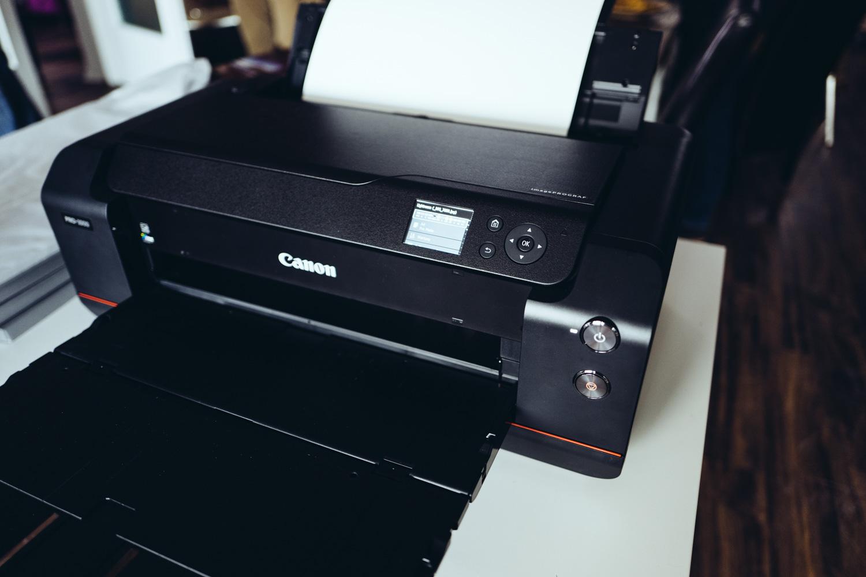 A2 Drucker: Canon imagePROGRAF PRO-1000 vs  Epson SureColor