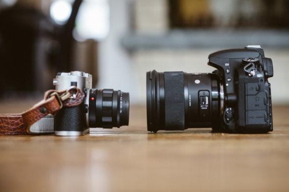 Leica M240 vs Nikon D750