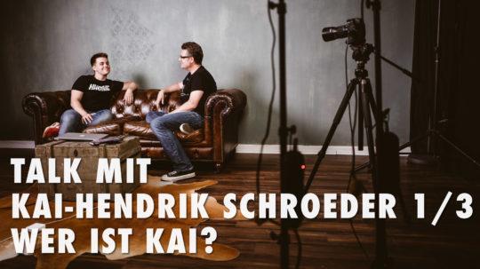 Talk mit Kai-Hendrik Schroeder 1/3