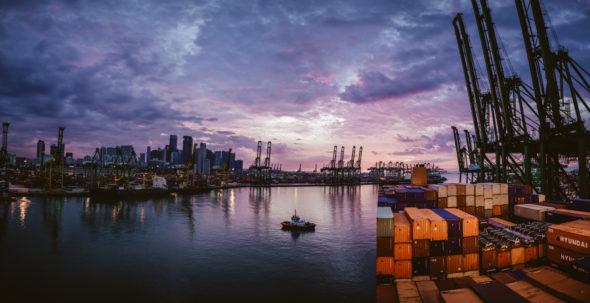 Hafen Singapur