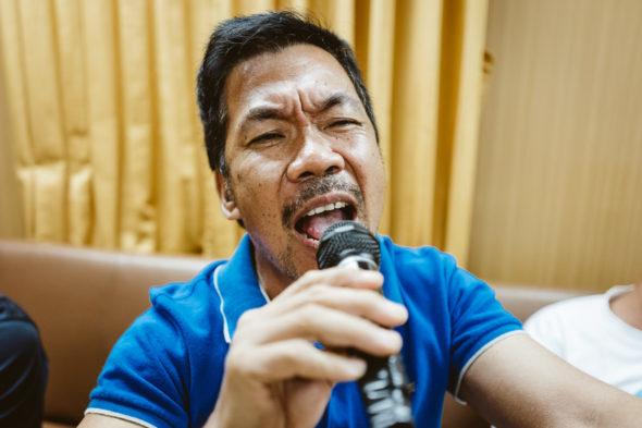 Karaoke an Bord