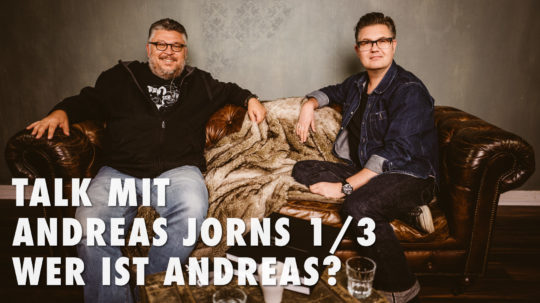Talk mit Andreas Jorns 1/3