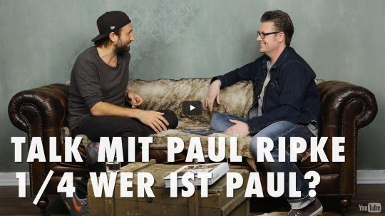 Talk mit Paul Ripke