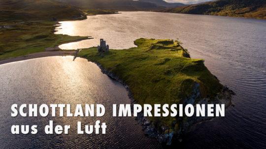 Schottland Impressionen aus der Luft
