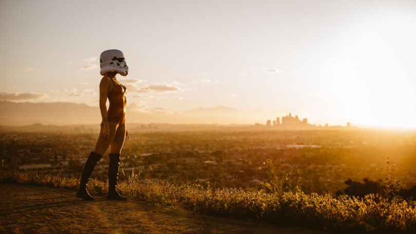 Stormtrooper over L.A. - Leica M240 & Summilux 50