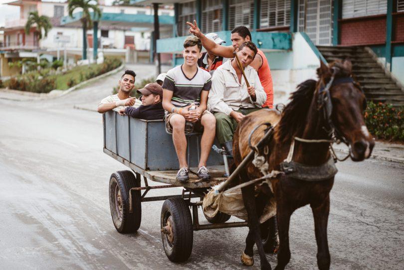 So sehen Fahrgemeinschaften auf Kuba aus. Leica M240 + Summicron 75
