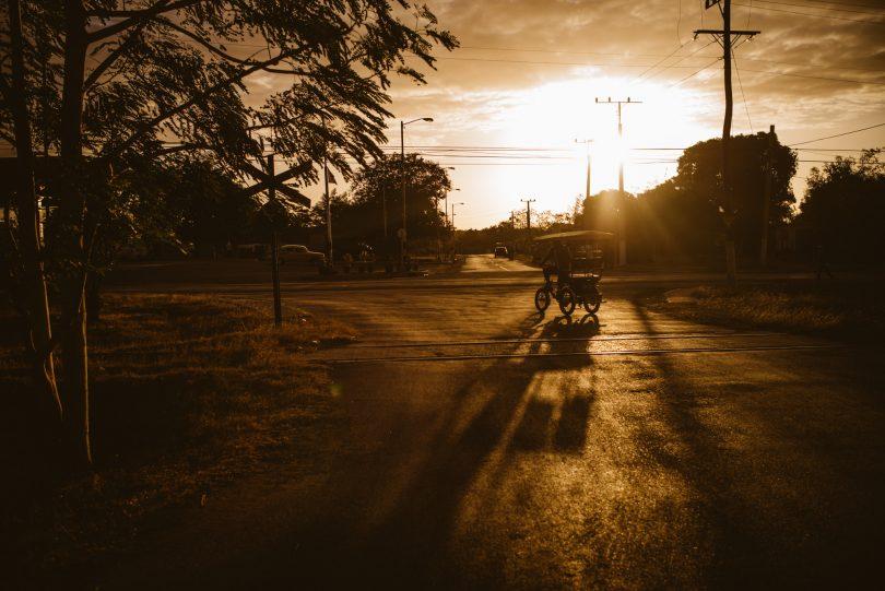 Sonnenaufgang in Trinidad. Leica M240 + Summilux 35
