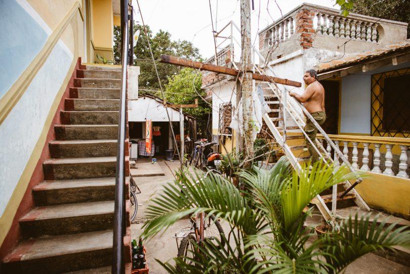 Unsere Unterkunft in Trinidad