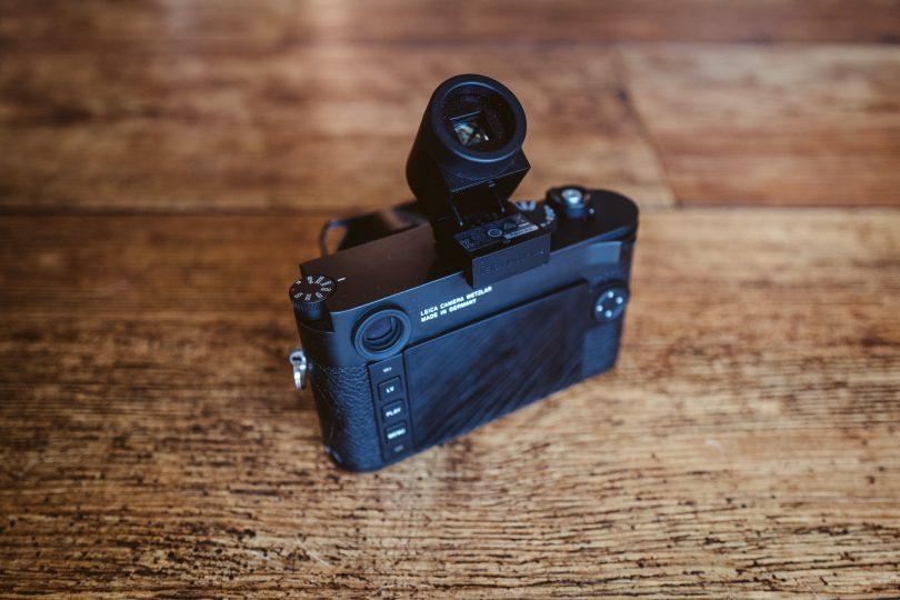 Leica M10 mit Visoflex