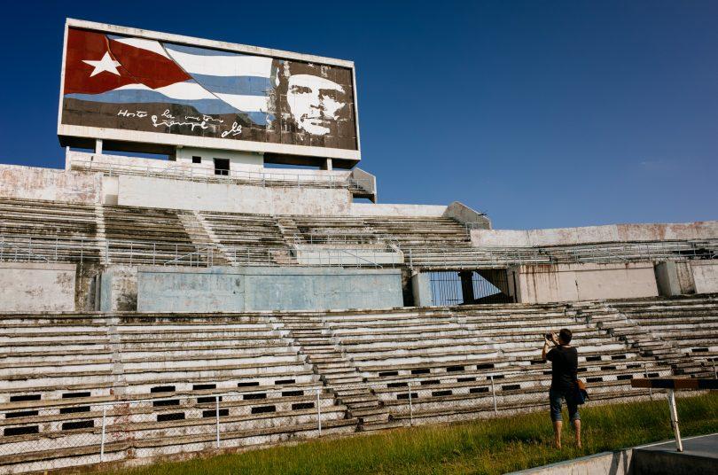 Das Che Guevara Stadion in Havanna