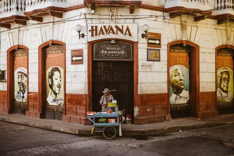 Café Havana in Cartagene
