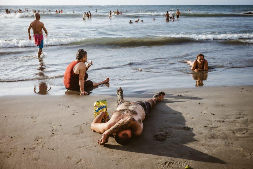 Bocagrande, der Strand der Einheimischen