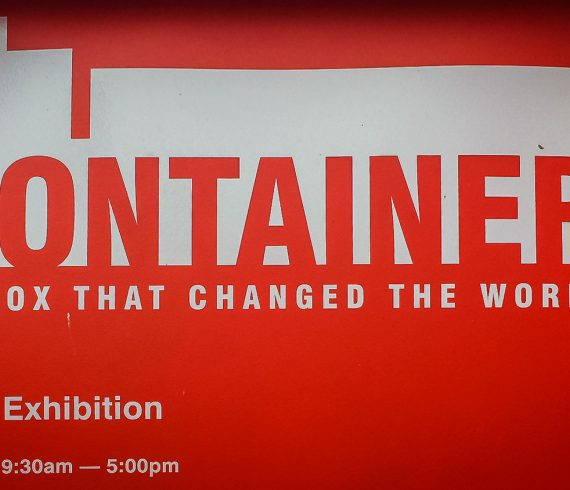 Container-Ausstellung Sydney, Australian Maritime Museum, Darling Harbour