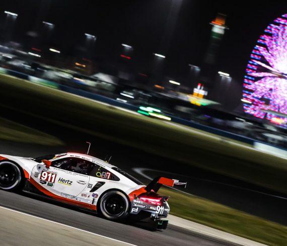 24-Stundenrennen von Daytona 2018, Porsche 911 RSR der GTLM-Klasse