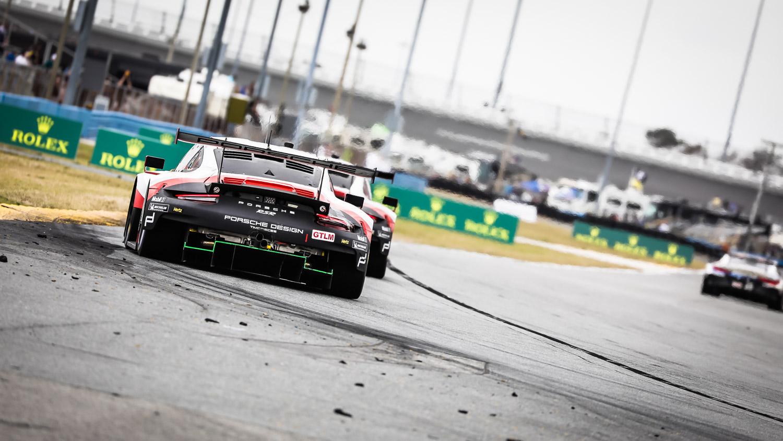 24-Stundenrennen Daytona 2018: Porsche 911