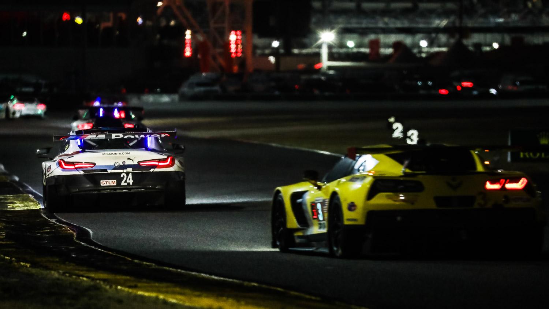 24-Stundenrennen Daytona 2018: BMW M8 vor Corvette