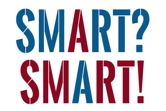 Schriftzug Smart