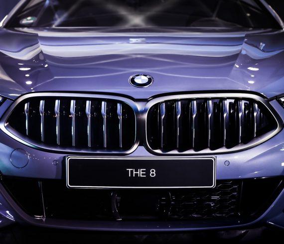 BMW 8er, Kühlergrill, Weltpremiere beim 24-Stunden-Rennen von Le Mans 2018