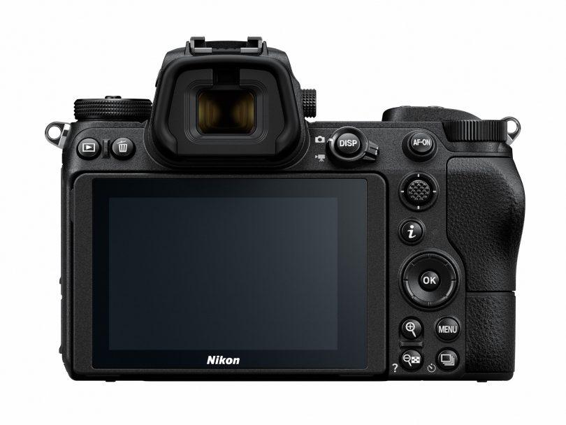 Nikon Z6 / Nikon Z7 von hinten