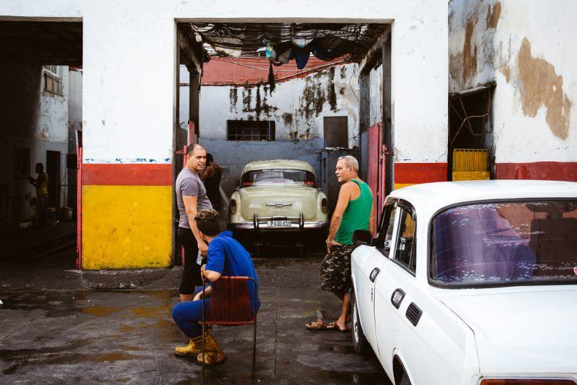 Die Alltagsszenen auf Kuba kommen einem immer irgendwie wie aus einem alten Film vor.