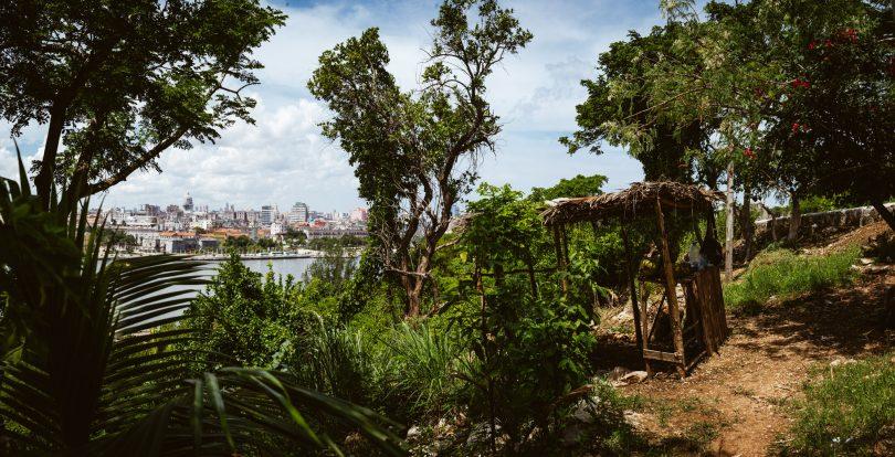 ... von hier hat man einen tollen Blick auf Havanna.