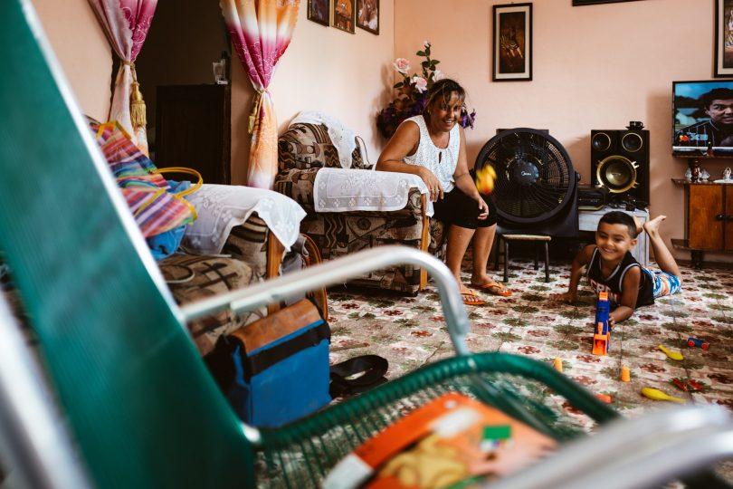 Eine winzige Wohnung, aber es reicht. Viele Kubaner leben sehr einfach, aber Obdachlose gibt es kaum.