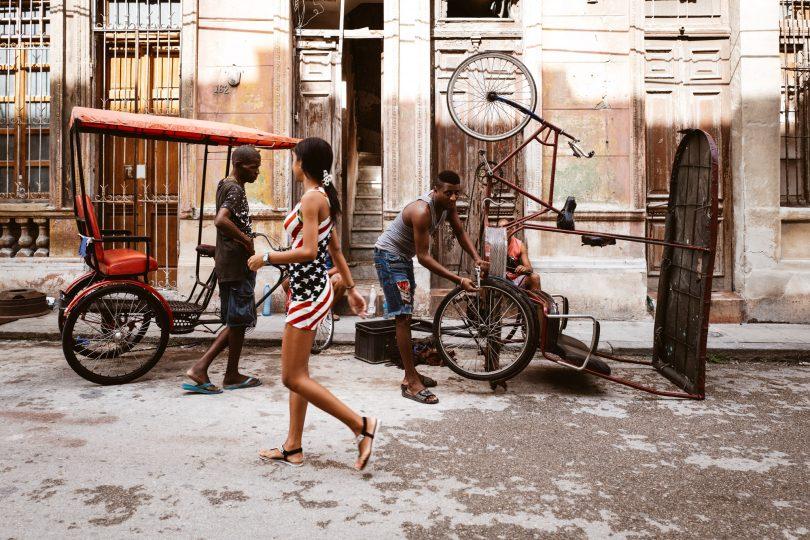 Oh La La. Kuba hat sehr viele attraktive Frauen.
