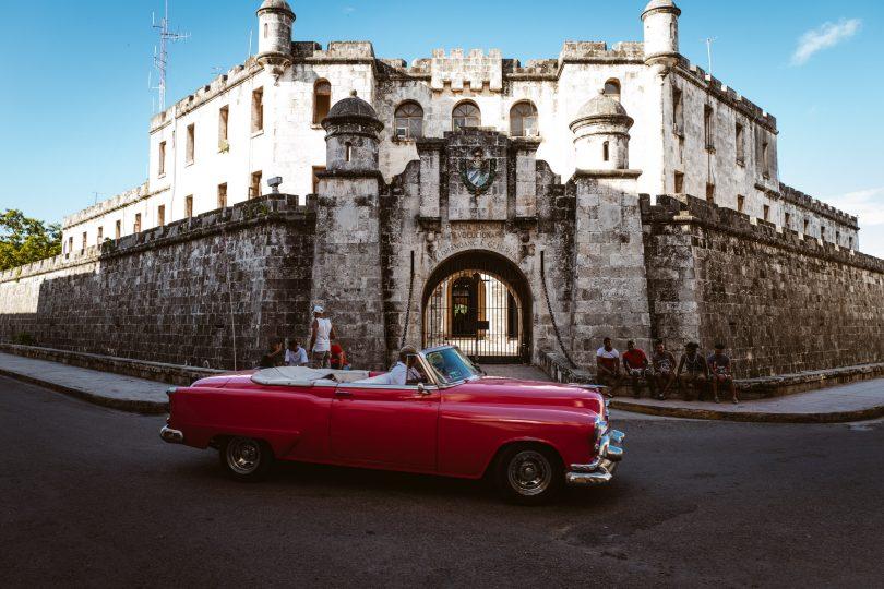 Das Polizeipräsidium Havannas.