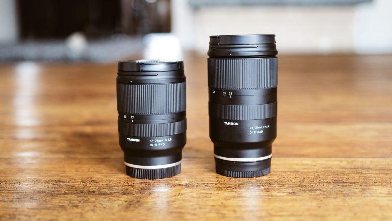 Tamron 17-28 und Tamron 28-75 mm f/2.8