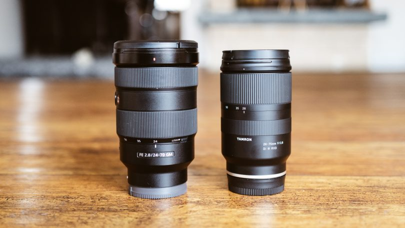 Sony 24-70 vs. Tamron 28-75 mm